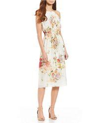 Antonio Melani - Oscar Floral Printed Dress - Lyst