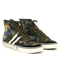Polo Ralph Lauren - Camouflage Hi-top Sneakers - Lyst