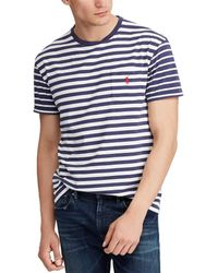 Polo Ralph Lauren - Stripe Short-sleeve Tee - Lyst