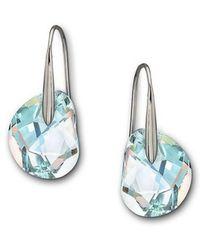 Swarovski - Galet Crystal Aurora Borealis Earrings - Lyst