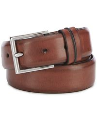 Cole Haan - Feather Edge Double Keeper Leather Belt - Lyst