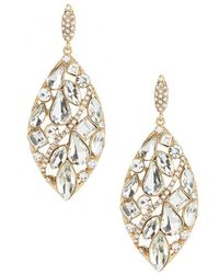 Belle By Badgley Mischka - Mosaic Statement Drop Earrings - Lyst