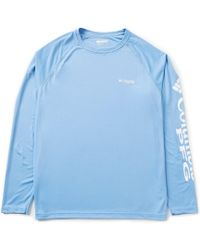 59573aa0e45 Columbia Pfg Terminal Tackle Camo Fade Long-sleeve Tee in Blue for Men -  Lyst