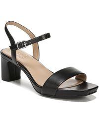 16d650feef6cc Lyst - Vince Camuto Jayvid Nubuck Platform Block Heel Sandals in ...