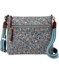 Fossil - Fiona Floral Large Cross-body Bag - Lyst