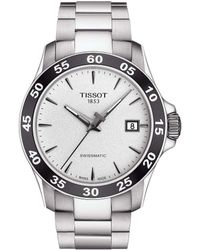 Tissot - V8 Men's Mechanical Automatic Stainless Steel Watch - Lyst