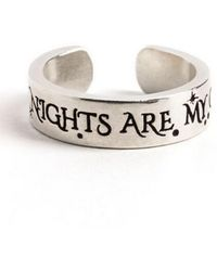 ALEX AND ANI - Wild Nights Glory Are My Glory Adjustable Ring - Lyst