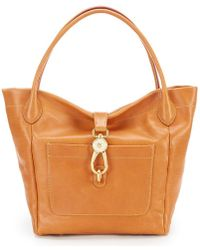 Dooney & Bourke - Florentine Collection Logo Lock Tote - Lyst