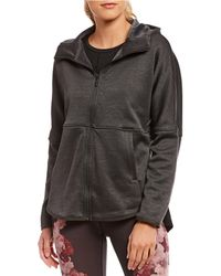 The North Face - Cozy Slacker Zip Front Hoodie - Lyst
