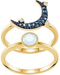 Swarovski - Symbolic Moon Ring - Lyst