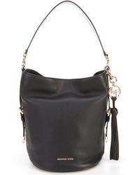 31181bdb626 MICHAEL Michael Kors - Brooke Medium Bucket Bag With Removable Tassel - Lyst