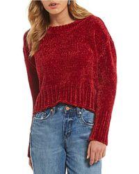 Chelsea & Violet - Chenile Sweater - Lyst