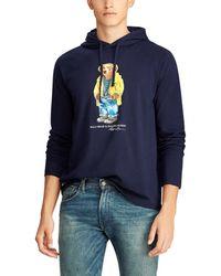 72a146b989b89 Polo Ralph Lauren - Big   Tall Polo Bear Hooded Long-sleeve T-shirt