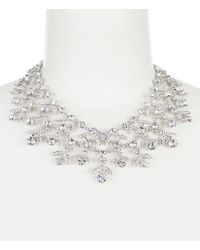 Givenchy - Crystal Drama Collar Necklace - Lyst