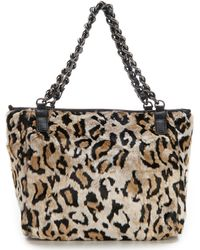 Betsey Johnson - Faux-fuh Leopard Tote - Lyst