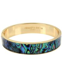 Kenneth Cole - Abalone Bangle Bracelet - Lyst