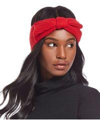 477b0659b84 Lyst - Kate Spade New York Mod Spot Tech Ear Muffs in Red