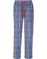 Cremieux - Big & Tall Plaid Woven Pajama Pants - Lyst