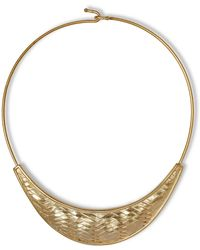 Vince Camuto - Woven Collar Necklace - Lyst