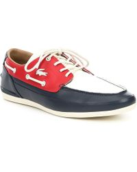 94f92918b Lyst - Men s Lacoste Boat and deck shoes Online Sale