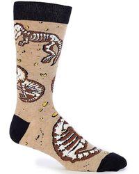 K. Bell - Dino Bones Crew Socks - Lyst