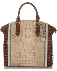 82fab08c Brahmin Provence Collection Anywhere Weekender in Metallic - Lyst