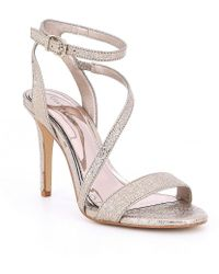 Gianni Bini - Evaleen Asymmetrical Dress Sandals - Lyst