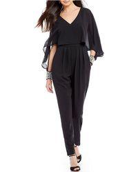 Belle By Badgley Mischka - Winry Jumpsuit - Lyst