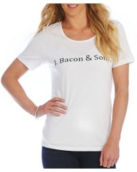 "Heritage - ""j. Bacon & Sons"" Logo Tee - Lyst"