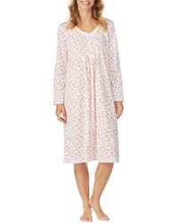 Carole Hochman - Ditsy Floral-print Jersey Ballet Gown - Lyst