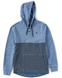 Hurley - Bayside Fleece Pullover Hoodie - Lyst