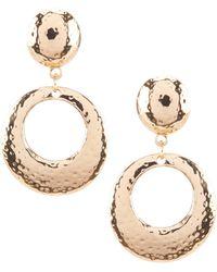 Dillard's - Door Knocker Clip Earrings - Lyst
