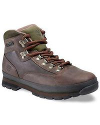 d4915ca9878 Lyst - Timberland Euro Hiker Round Toe Leather Hiking Boot for Men