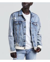 Levi's - Premium Patch Trucker Denim Jacket - Lyst