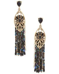 Belle By Badgley Mischka - Tassels Statement Earrings - Lyst