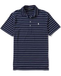 Polo Ralph Lauren - Polo Golf Active-fit Stretch Lisle Short-sleeve Polo Shirt - Lyst
