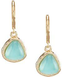 Dillard's - Mosaic Small Stone Drop Earrings - Lyst