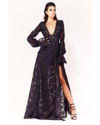 Gabriele Fiorucci Buciarelli - Long Sleeve Evening Gown - Lyst