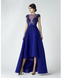 Saiid Kobeisy - Sk By High-low Evening Gown - Lyst