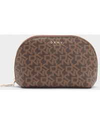 DKNY - Town & Country Logo Cosmetic Pouch - Lyst
