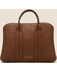 DKNY - Perry Leather Satchel - Lyst