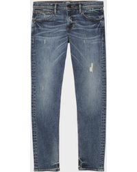 DKNY - The Varick Skinny Jean – Bleached - Lyst