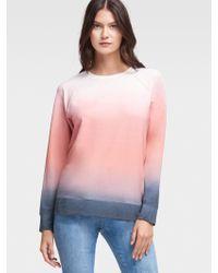 DKNY - Long-sleeve Ombré Pullover - Lyst