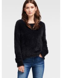DKNY - Feathered Sweater - Lyst