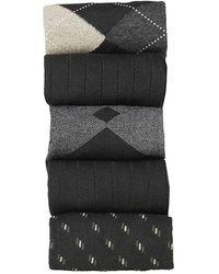 Dockers | Argyle Socks Dress Socks (5 Per Package) | Lyst