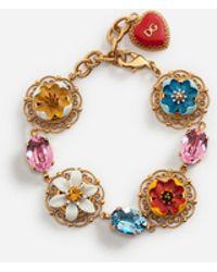 Dolce & Gabbana - Bracelet With Majolicas - Lyst