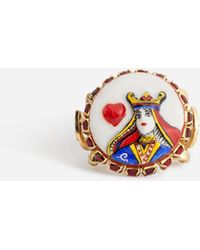 Dolce & Gabbana - Queen Of Hearts Ring - Lyst