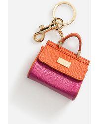 Dolce & Gabbana - Sicily Charm Key Ring - Lyst