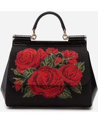 19361077c1 Lyst - Dolce   Gabbana Sicily Bags - Dolce   Gabbana Sicily Bags
