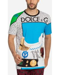 Dolce & Gabbana | King Of Hearts Printed T-shirt | Lyst